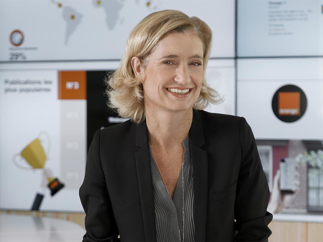 Beatrice Mandine directrice de la Marque Orange