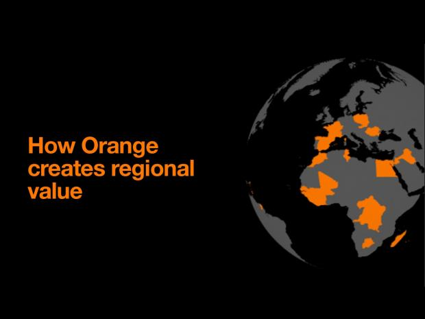 How Orange creates regional value